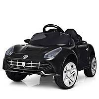 Детский электромобиль M 3176EBLR-2, колеса EVA, пульт, кожаное сиденье, MP3, свет фар.