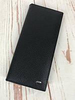 Мужской кожаный клатч  Dr.Bond на магните. Кожаный мужской кошелек. Стильный кошелек. Качественные кошелек.