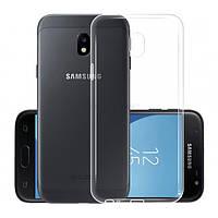 Прозрачный силиконовый чехол Slim Premium для Samsung Galaxy J4 2018
