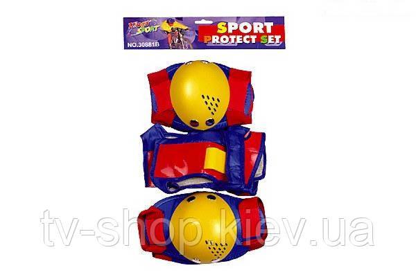 Захист колін і ліктів King Sport