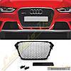 Решетка радиатора стиль RS4 для Audi A4 2012-16