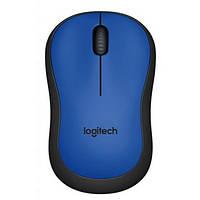 Мишка безпровідна Logitech M220 Silent Blue