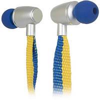 Навушники вакуумні провідні з мікрофоном Ergo ES-500i Ukraine