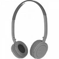 Навушники накладні провідні з мікрофоном Ergo VM-330 Grey (VM-330 Grey)
