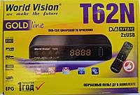КОМПЛЕКТ Цифровой эфирный DVB-T2 приемник World Vision T62A(Стандартный пульт) + Wi-Fi USB адаптер MT7601