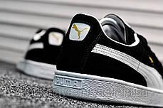Кроссовки мужские черные Puma Suede Classic (реплика) , фото 2