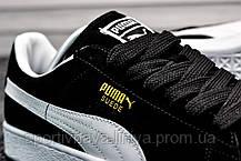 Кроссовки мужские черные Puma Suede Classic (реплика) , фото 3