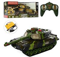 Танк дистанционное управление на аккумуляторе, war tank, свет, звук
