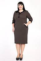 """Платье женское """"Сара"""" больших размеров (М353) , фото 1"""