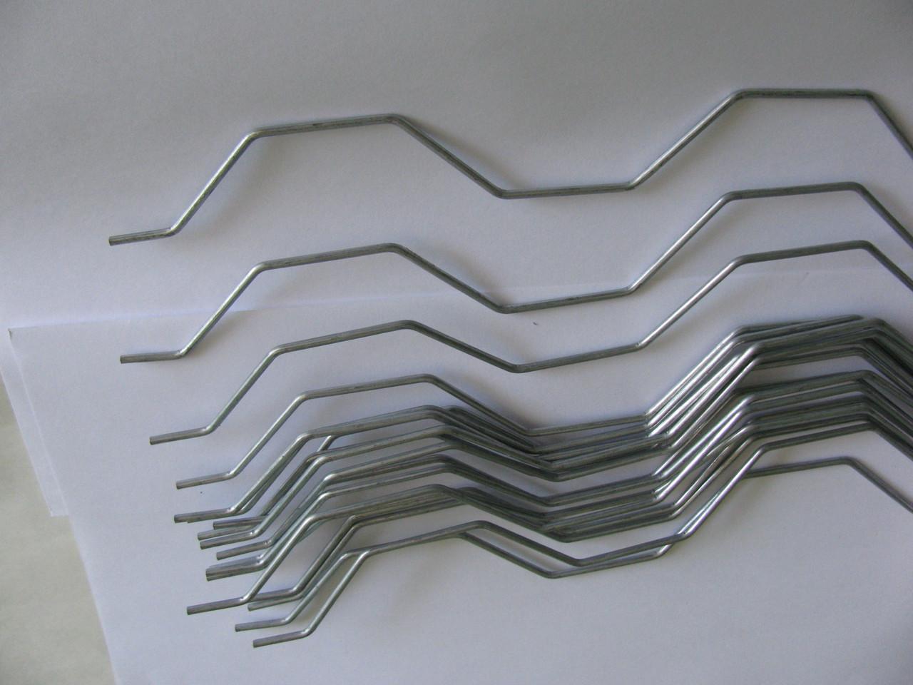 Дріт Екстра (пружина зигзаг) для комплектації профілю Зигзаг