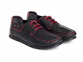 Мокасини Etor 14969-16654-2 чорні