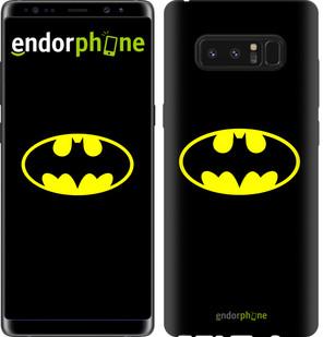 Чехол на Samsung Galaxy Note 8 Бетмен логотип