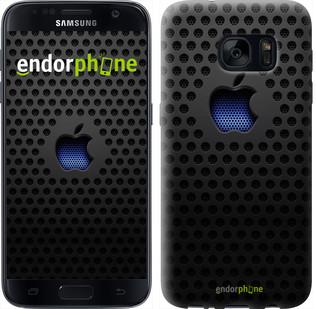 Чехол на Samsung Galaxy S7 G930F apple 2