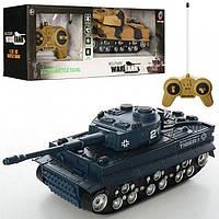 Танк Military War Tank на радиоуправлении на батарейках Тигр