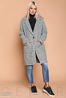 Твидовое осеннее пальто S M L