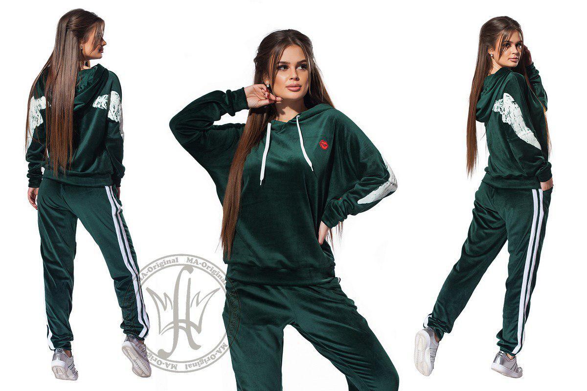 b6b69fd2b469 Женский спортивный костюм / бархат / Украина: купить оптом и в розницу от  ...