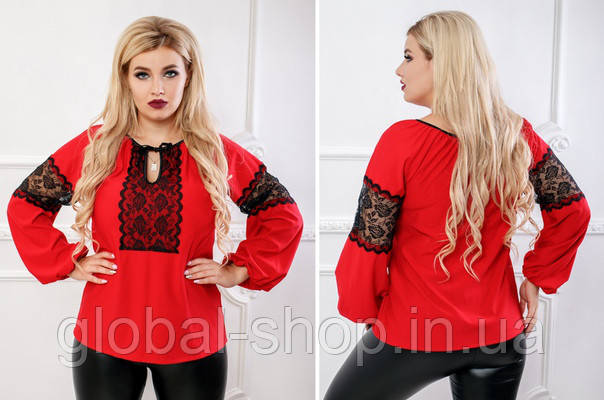 Женская блузка кофта вишиванка код 0626