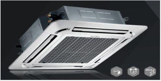 Кассетный инверторный кондиционер SmartWay SMСF/SMN-18EHR/SMPN-02 (панель)