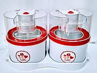 Мороженица HILTON ICM-3853 2*1 л.