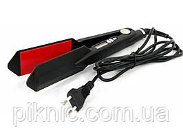 Мощный утюжок, плойка, выпрямитель, стайлер для волос Promozer 45-55 Вт с терморегулятором