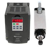 Шпиндель 3 кВт для ЧПУ воздушное охлаждение + инвертор