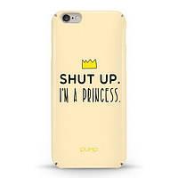 Накладка для iPhone 6/6s софт-тач пластик Pump Im a Princess