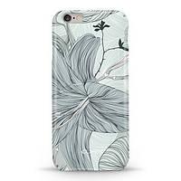 Накладка для iPhone 6/6s софт-тач пластик Pump Lilies