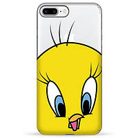 Накладка для iPhone 7 Plus/iPhone 8 Plus силікон Pump Tweety Bird