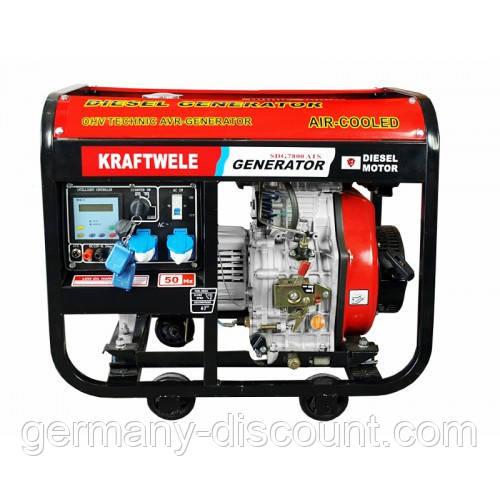 Дизельный генератор 7.8 Квт однофазный с автоматикой(Германия)