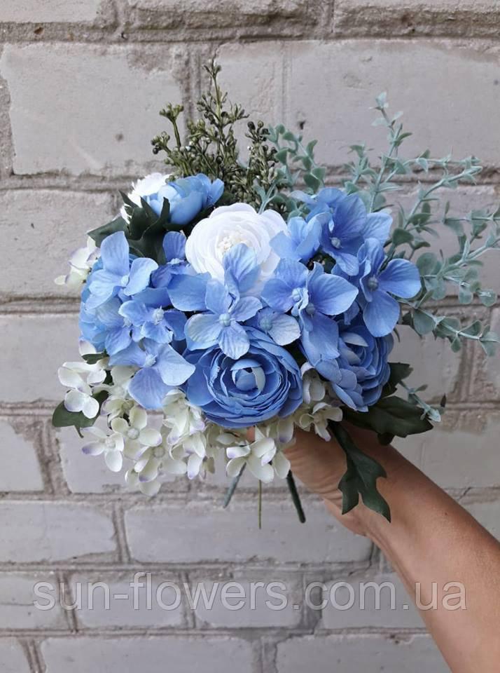 Букет -дублер(голубой)