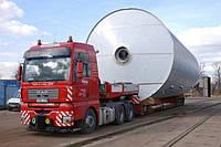 Транспортировка крупногабаритных и тяжеловесных грузов по территории Украины, Европы, СНГ