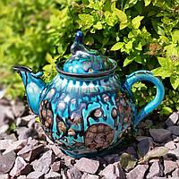 Эксклюзивный чайник мастерской А.Назирова. Риштан