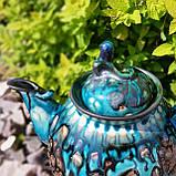 Эксклюзивный чайник мастерской А.Назирова. Риштан, фото 2