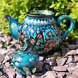Эксклюзивный чайник мастерской А.Назирова. Риштан, фото 3