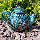 Эксклюзивный чайник мастерской А.Назирова. Риштан, фото 4