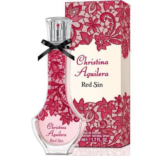 Женская парфюмированная вода Christina Aguilera Red Sin (яркий и провокационный фруктово-цветочный аромат) копия