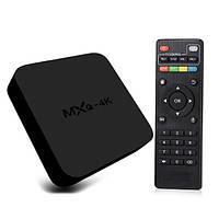 Смарт ТВ Приставка MXQ PRO 4K S905W Android 7 Смарт Бокс на Андроид Медиаплеер Smart box