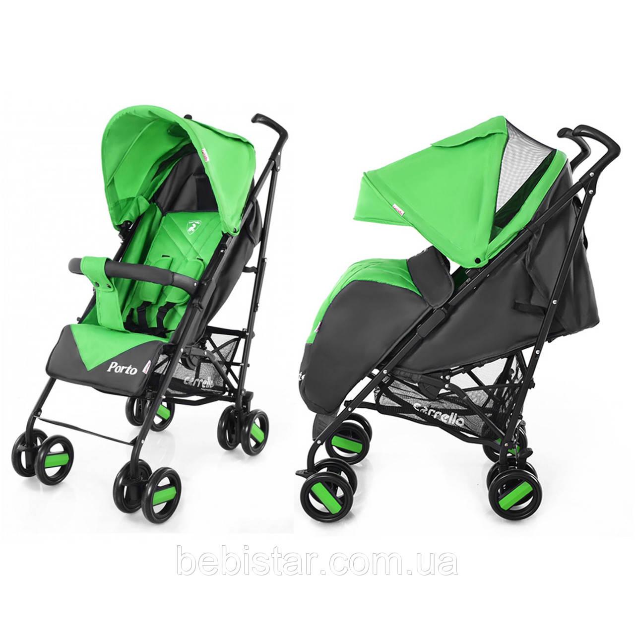 Детская прогулочная коляска CARRELLO Porto CRL-1411 Green