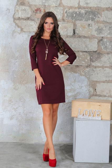 Платье женское короткое приталенное (К23939)