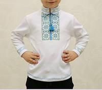 Рубашка - вышиванка для мальчика, Вышиванки детские, Футболка длиный рукав с вышивкой