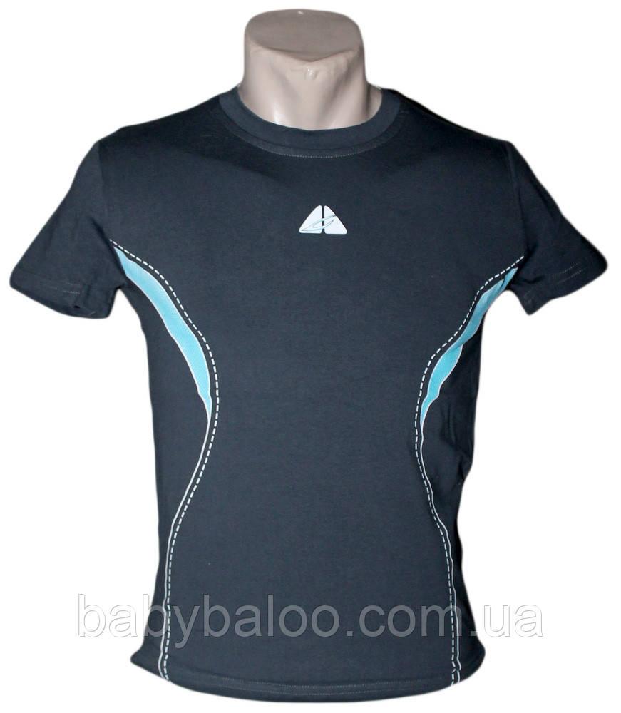 Спортивная стрейч футболка на юниора (рост от 140 см до 176см)