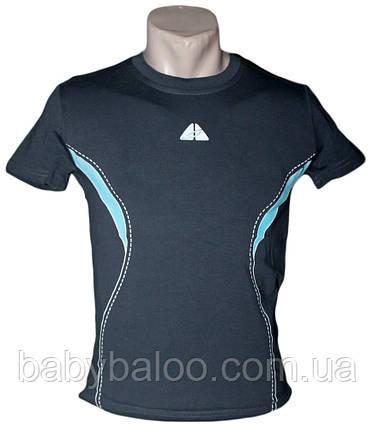 Спортивная стрейч футболка на юниора (рост от 140 см до 176см), фото 2