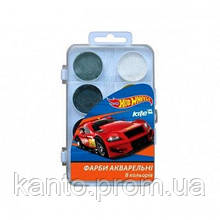 Акварель Kite Hot Wheels 8 цв. без кисти