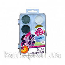 Акварель Kite My Little Pony 8 цв. без кисти