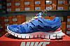 Кроссовки Nike Free Run 2.0 Blue Orange Синие женские, фото 3