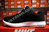 Кроссовки Nike Zoom Flyknit Max Black Черные мужские реплика, фото 3