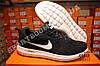 Кроссовки Nike Zoom Flyknit Max Black Черные мужские реплика, фото 4