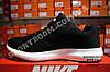 Кроссовки Nike Zoom Flyknit Max Black Черные женские реплика, фото 3