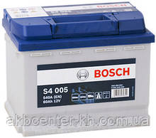 Аккумулятор автомобильный BOSCH 6CT-60  S4 R 540A