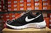 Кроссовки Nike Roshe Run Black White Черные мужские, фото 3